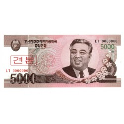 Korea 5000 WON