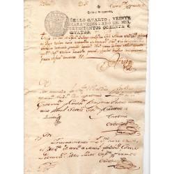 Spain 1783 Dispute