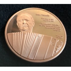 Astor Piazzolla commemorative medal