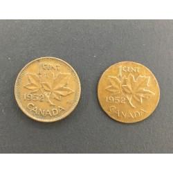 Canada Penny 1952